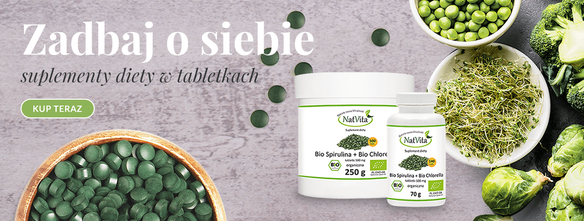 BIO Spirulina + BIO Chlorella - idealne połączenie na odporność organizmu